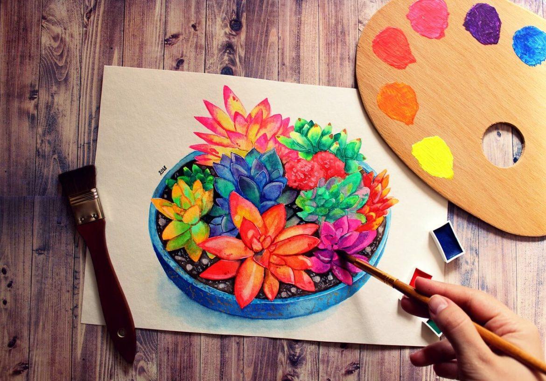 Kreatív ajándék anyák napjára: jobb agyféltekés rajztanfolyam